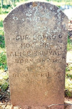 Alice Eugenia <I>Bowles</I> DuVal