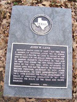 Lieut John W. Lane