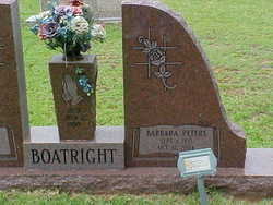 Barbara Jean <I>Peters</I> Boatright