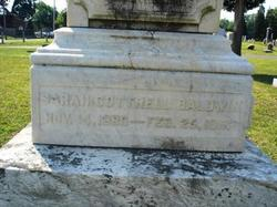 Sarah <I>Cottrell</I> Baldwin
