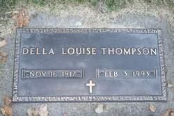 Della Louise <I>Scott</I> Thompson