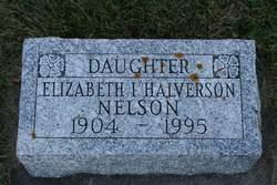 Elizabeth Ignette <I>Sathre Halverson</I> Nelson