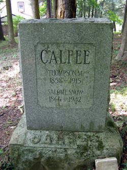 Thompson M. Calfee