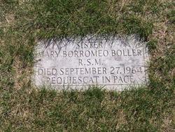 Sr Mary Borromeo Boller, RSM