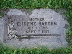 Eliza Irene <I>Jones</I> Hansen