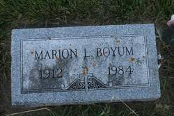 Marion Lucille Boyum