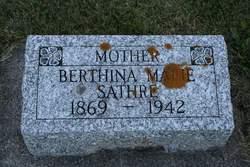 Berthina Marie <I>Munson</I> Sathre