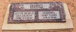 """Charlotte Jenette """"Lottie"""" <I>Searle</I> Bird"""