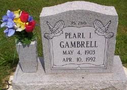 Ira Pearl <I>Lodge</I> Gambrell