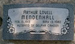 Arthur Lovell Mendenhall