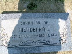 Sarah Arlene Mendenhall