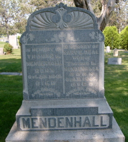 Mary Ellen <I>Deal</I> Mendenhall