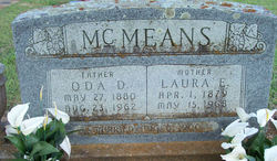 Oda Dee McMeans