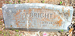 Rev Jefferson Davis Albright