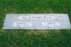 Margaret <I>Reece</I> Allensworth