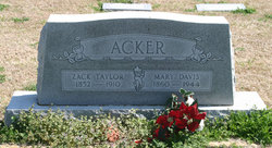 Zack Taylor Acker