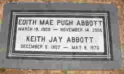Edith Mae <I>Pugh</I> Abbott