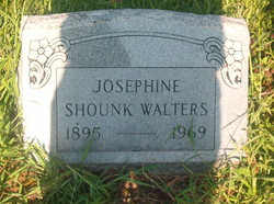 Josephine <I>Shounk</I> Walters