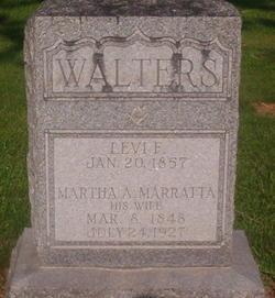Martha A <I>Marratta</I> Walters