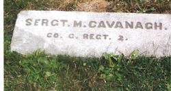 Sgt Michael Cavanaugh