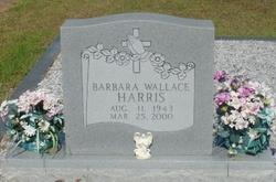 Barbara <I>Wallace</I> Harris