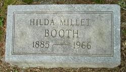 Hilda <I>Millet</I> Booth
