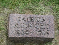 Catherine <I>Beeghly</I> Albright