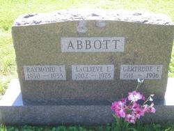 Gertrude E <I>Housenga</I> Abbott