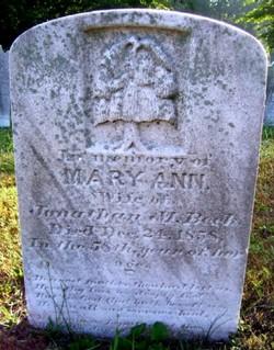 Mary Ann <I>Orr</I> Beck