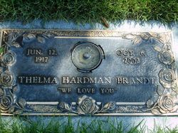 Thelma <I>Brooks</I> Brandt