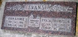 Eva <I>Thompson</I> Evans