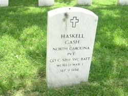 PVT Haskell Gash