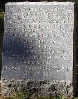 Pate Cemetery