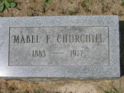 Mabel F Churchill