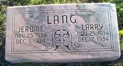 Jerome Lang