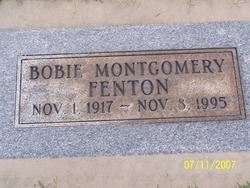 Bobie Montgomery Fenton