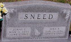 Jonah E Sneed