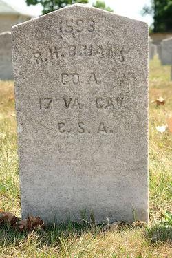 Pvt Robert H. Brians