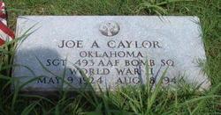 Sgt Joe A. Caylor
