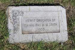 Infant Daughter Smith