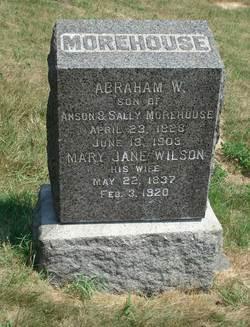 Mary Jane <I>Wilson</I> Morehouse