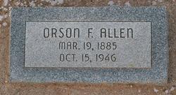 Orson Franklin Allen