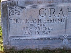 Bettie Ann <I>Harding</I> Graham