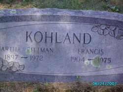 Francis W. Kohland