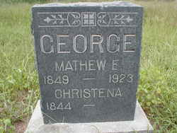 Christena <I>Treesh</I> George