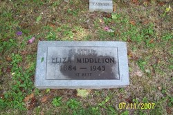 Eliza <I>Johnson</I> Middleton