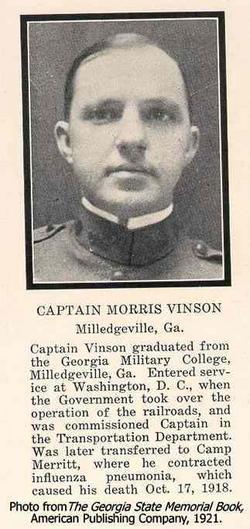 CPT Morris Vinson