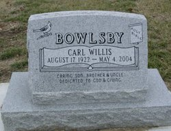 Carl Willis Bowlsby