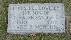 C Russell Bowlsby