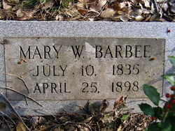 Mary Frances <I>Weeden</I> Barbee